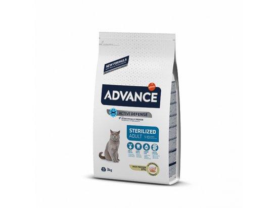 Advance (Эдванс) Cat Sterilized - корм для стерилизованных котов и кошек С ИНДЕЙКОЙ
