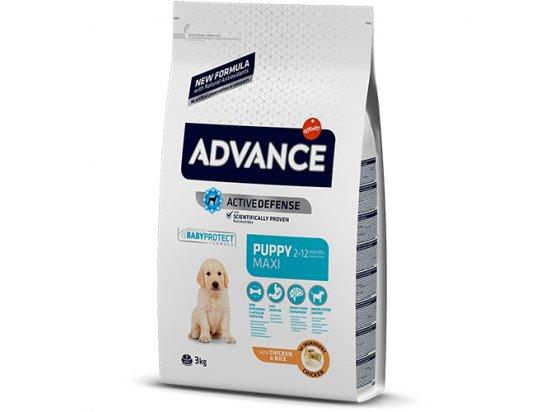 Advance (Эдванс) Dog Maxi Puppy - корм для щенков крупных пород (с курицей и рисом)
