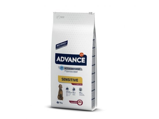 Advance (Эдванс) Dog Sensitive Lamb & Rice - корм для взрослых собак