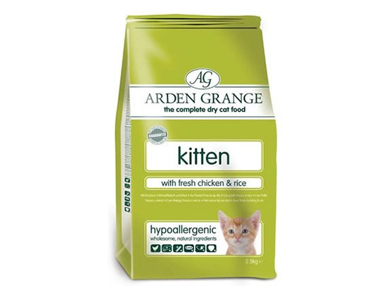 Arden Grange (Арден Грендж) Kitten Fresh Chicken&Rice - сухой корм для котят (курица и рис)