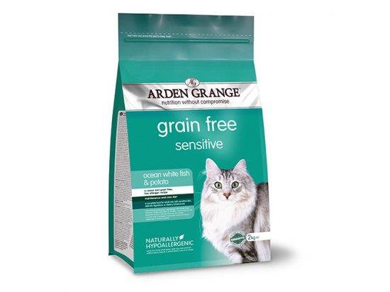 Arden Grange Sensitive корм для кошек с деликатным желудком или чувствительной кожей (океаническая рыба и картофель)