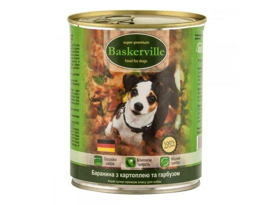 Baskerville (Баскервиль) БАРАНИНА с картошкой и тыквой - консервы для собак