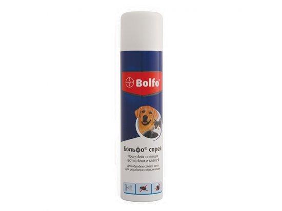 Bayer (Байер) BOLFO SPRAY (БОЛЬФО) спрей от блох и клещей для собак и кошек, 250 мл
