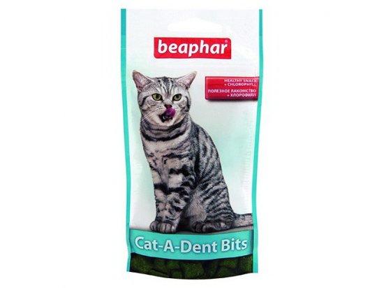 Beaphar Cat-a-Dent Bits (Дент Битс) лакомство - уход за зубами у кошек, 35 г