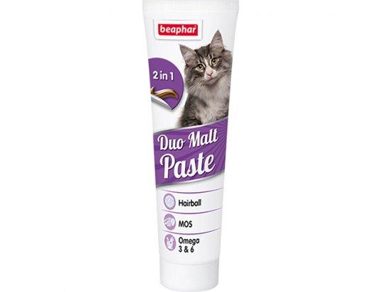 BEAPHAR Duo-Malt Paste Паста для кошек двойного действия для выведения шерсти из кишечника