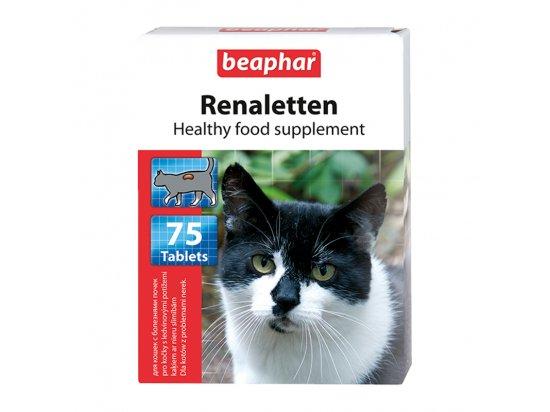 Beaphar Renaletten K - Лакомство для кошек с проблемами почек, 75 табл.