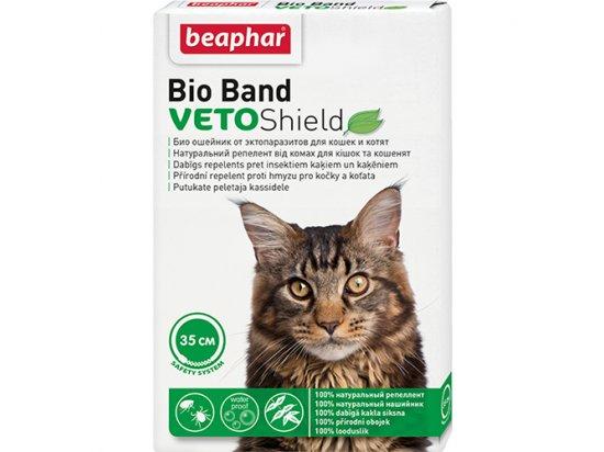 Beaphar VETO Shield Bio Band - Биологический ошейник от блох, клещей и комаров для кошек и котят 35 см