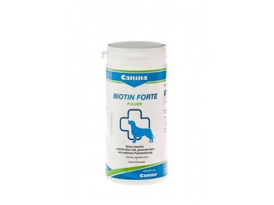 Canina Biotin Forte Pulver - Курс для шерсти собак 200 г
