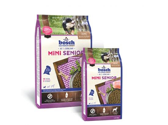 Bosch Mini Senior корм для пожилых собак мелких пород