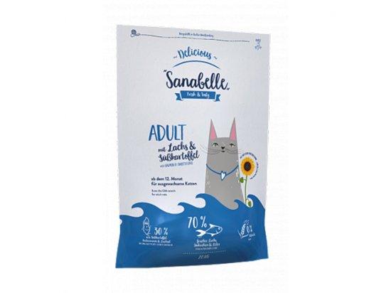 Bosch Sanabelle DELICIOUS ADULT корм для взрослых кошек с ЛОСОСЕМ И БАТАТОМ