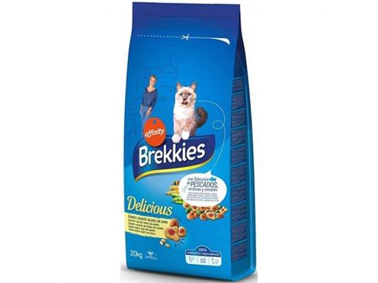Brekkies (Бреккис) Cat Delice Fish Корм для взрослых кошек с рыбой