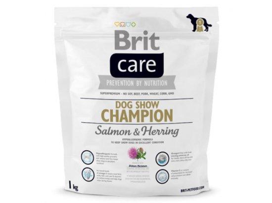 Brit Care Dog Show Champion - Корм для выставочных собак ЛОСОСЬ+СЕЛЬДЬ С РИСОМ