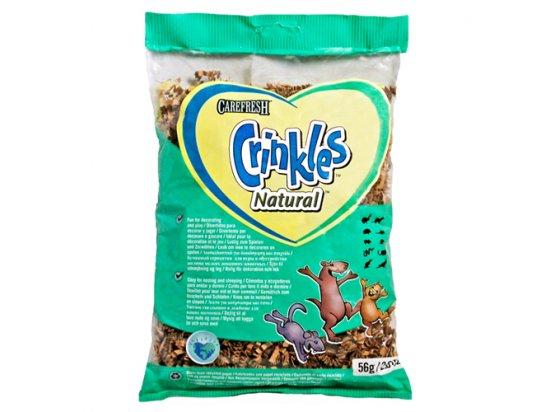 CareFRESH КРИНКЛЕС НАТУРАЛ (Crinkles Natural) серпантин для грызунов, птиц, рептилий, 56 г