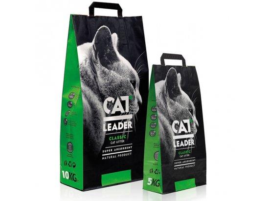 Geohellas CAT LEADER супер-впитывающий наполнитель для кошачьих туалетов