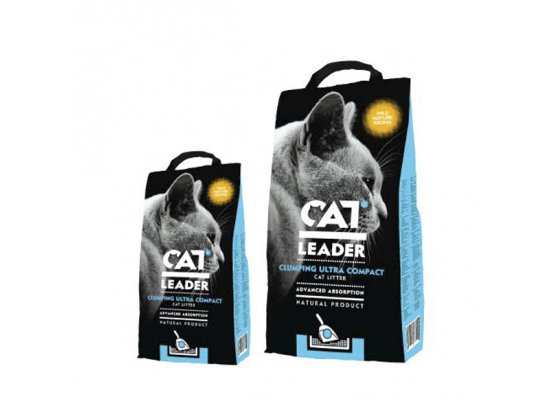 Geohellas CAT LEADER WILD NATURE ультра-комкующийся наполнитель для кошачьих туалетов С АРОМАТОМ ДИКОЙ ПРИРОДЫ