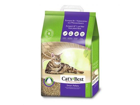 Cats Best SMART PELLETS древесный КОМКУЮЩИЙСЯ наполнитель для кошек (крупная гранула)