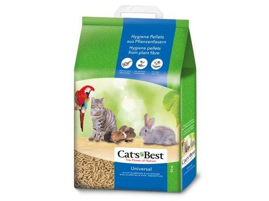 Cats Best Universal древесный гигиенический наполнитель