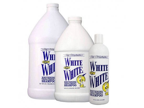 Chris Christensen (Крис Кристенсен) WHITE on WHITE - шампунь для белой шерсти для собак