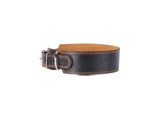 Collar Кожаный ошейник для собак ШИРОКИЙ, длина 52-64 см, ширина 35 мм