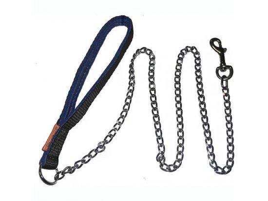 Collar Поводок-цепочка для собак с нейлоновой ручкой (4357)