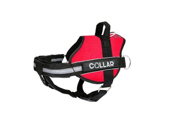 Collar POLICE Регулируемая шлея для собак КРАСНАЯ
