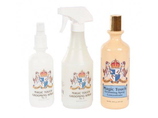 Crown Royale MAGIC TOUCH № 2 - финальный спрей для остевой, короткой и густой шерсти собак