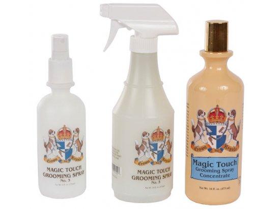 Crown Royale MAGIC TOUCH № 3 - финальный спрей для густой и жесткой шерсти собак