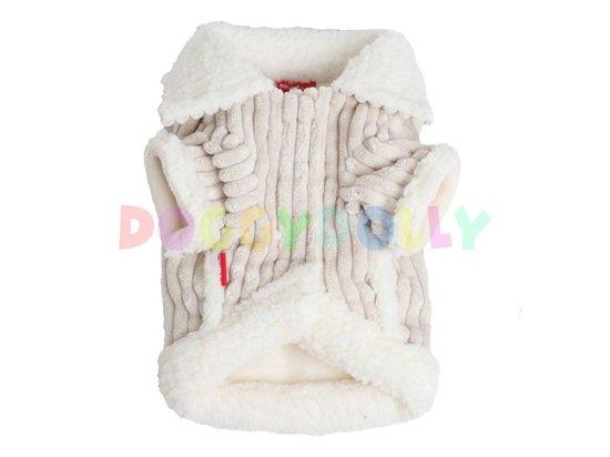 DoggyDolly пальто - кремовый жакет - одежда для собак