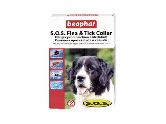BEAPHAR S.O.S. Ошейник от блох и клещей для взрослых собак