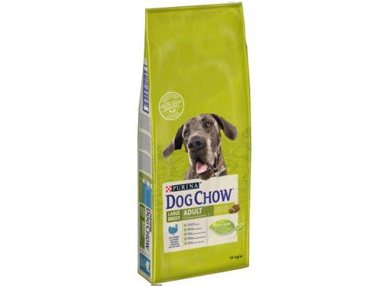 Dog Chow Adult Корм для взрослых собак крупных пород с индейкой 14 кг
