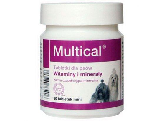 Dolfos (Дольфос) MULTICAL MINI (МУЛЬТИКАЛЬ МИНИ) витаминно-минеральный комплекс для собак мини пород 90 (мини) табл (48 г)