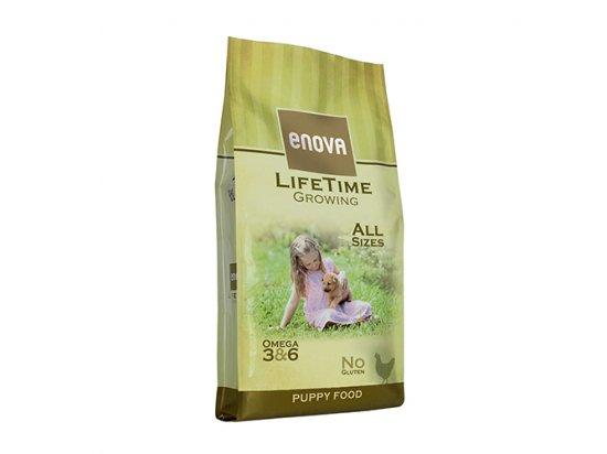 Enova LifeTime GROWING корм для щенков и собак в период беременности и лактации КУРИЦА