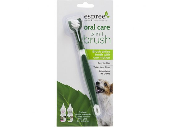Espree Oral Care 3 in 1 Brush зубная щетка для собак