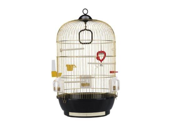 Ferplast (Ферпласт) DIVA GOLD - круглая клетка для попугаев и птиц