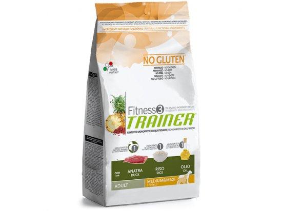 Trainer Fitness3 Adult Medium&Maxi With Duck Rice Oil - для взрослых собак средних и крупных пород с Уткой