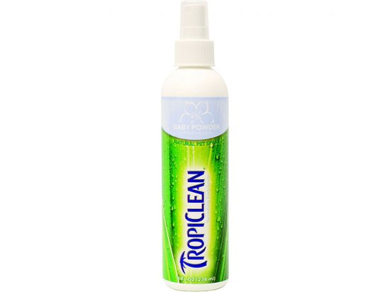Tropiclean (Тропиклин) BABY POWDER (ДЕТСКАЯ ПУДРА) дезодорант-антистатик для собак и кошек
