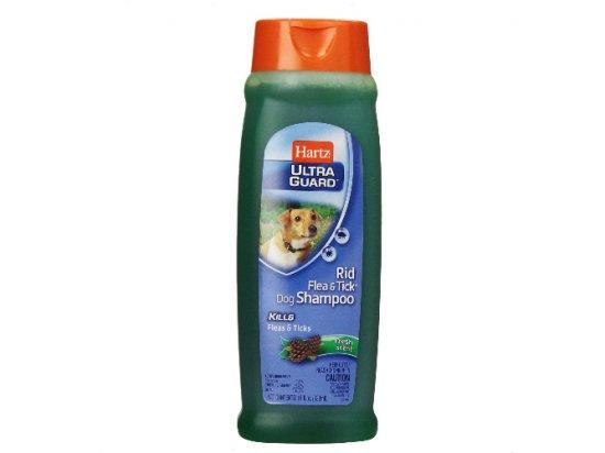 Hartz Rid Flea & Tick Shampoo - Шампунь для собак от блох и клещей с ароматом хвои, 532 мл