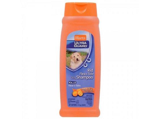 Hartz Rid Flea & Tick Shampoo Fresh Citrus - Шампунь от блох и клещей с ароматом цитруса, 532 мл