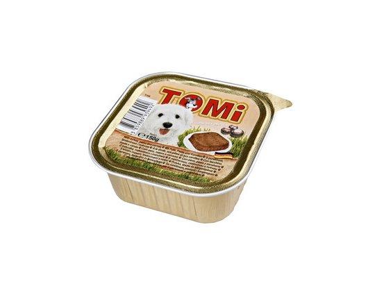 TOMi Turkey+Pasta+Carrots консервы для собак - паштет, индейка, паста и морковь 150 г