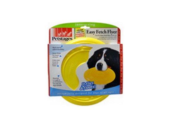 Petstages (Петстейджес) Easy Fetch Flyer - Фрисби - игрушка для собак, диаметр 22,5 см