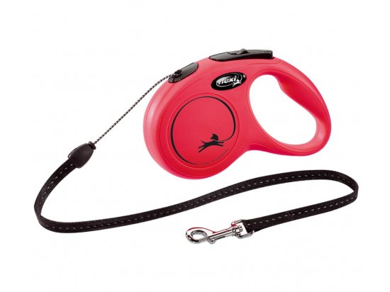 Flexi (Флекси) CLASSIC CORD поводок-рулетка для собак ТРОС S, 5 м (до 12 кг)