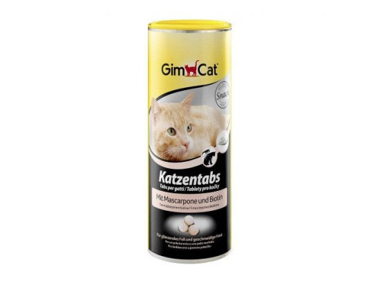 Gimсat MASCARPONE UND BIOTIN (СЫР МАСКАРПОНЕ C БИОТИНОМ) лакомство для кошек