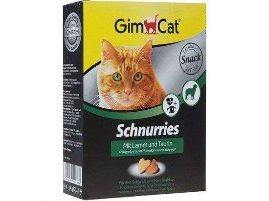 Gimсat Schnurries - витаминные «сердечки» с таурином со вкусом ягненка