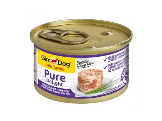 Gimdog Pure Delight CHICKEN & TUNA (КУРИЦА И ТУНЕЦ) консервы для собак 85 г