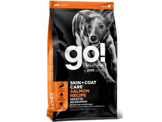 GO! Solutions SKIN & COAT CARE SALMON корм для собак и щенков С ЛОСОСЕМ и ОВСЯНКОЙ