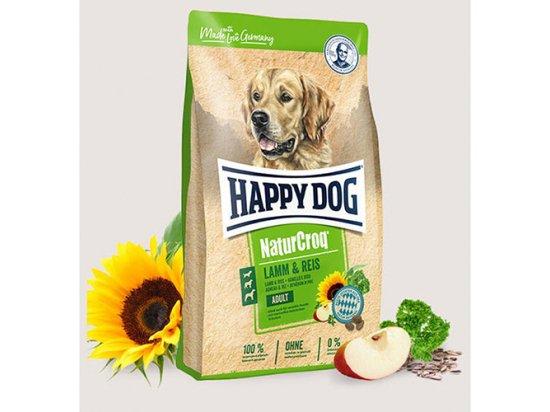 Happy Dog (Хэппи Дог) NATUR CROQ LAMM & REIS (НАТУР КРОК ЯГНЕНОК & РИС) корм для взрослых собак
