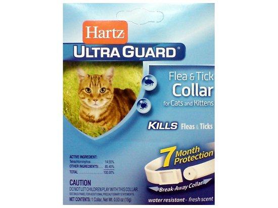 Hartz Ultra Guard for Cats and Kittens - Ошейник для кошек и котят от блох и клещей (80483)