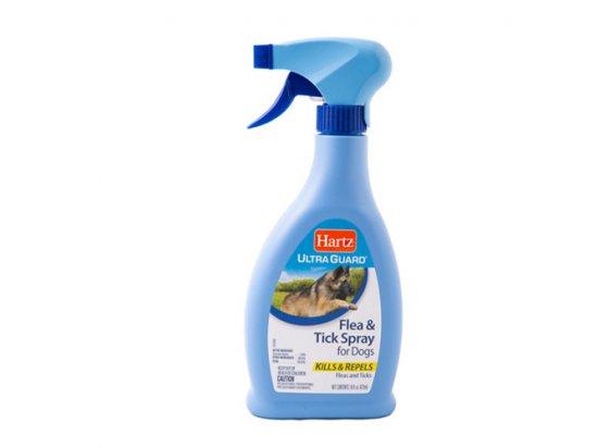 Hartz Flea & Tick Dog Spray - Спрей от блох и клещей для собак (H10623), 473 мл