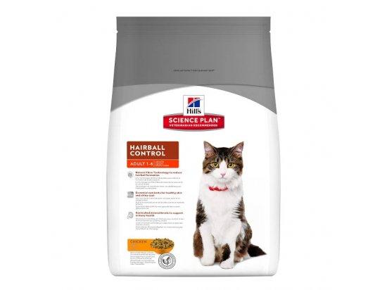 Hill's Science Plan Adult Hairball Control корм для кошек с курицей