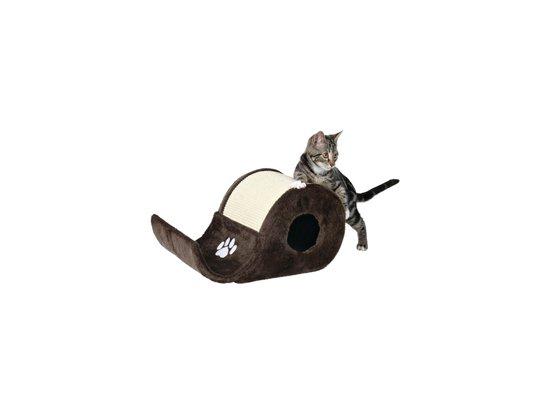 Trixie ВОЛНА-ДОМИК - когтеточка для кошек с домиком (4312)